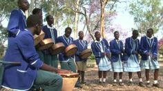 The video shows one of Zimbabwe's oldest musical instruments, the mbira, being played and enjoyed by SOS children.