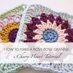 Cherry Heart blog with lovely crochet tutorials and patterns