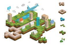 3d landscape cutaways - Google Search