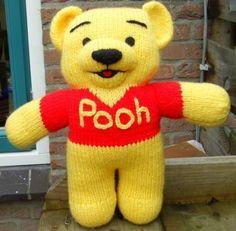 Voorbeeldkaart - Winney de Pooh - Categorie: Breien - Hobbyjournaal uw hobby website
