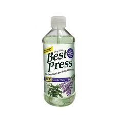 With Best Press, there's no flaking, clogging, or white residue on dark fabrics! A special stain shield protects fabrics, and the product helps resist wrinkles. Try Best Press today – you will never go back to ironing with spray starch! Spray Starch, Good Press, Spray Bottle, Fabrics, Dark, News, Tejidos, Cloths, Fabric