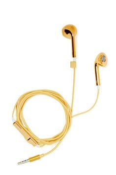 Hear No Evil Earbuds - Gold - Accessories