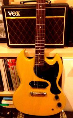 epiphone sg junior my guitars pinterest. Black Bedroom Furniture Sets. Home Design Ideas
