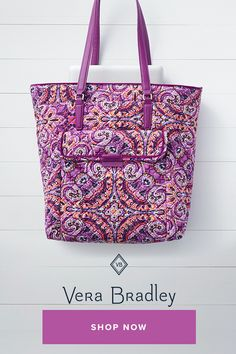 You might not mind carrying a laptop and files when you have this stylish  tote to. Vera Bradley da5daef141