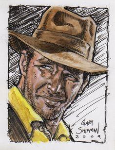 Indiana Jones - by Gary Shipman
