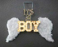 Heaven sent baby shower theme its a boy