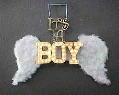 Heaven sent baby shower theme its a boy