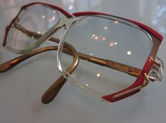 957e3c0fb9 Vintage Cazal Eyeglasses Model 197