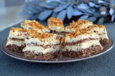Prajitura cu nuca si crema de vanilie - Rețete Papa Bun Romanian Desserts, Romanian Food, Sweets Recipes, Cake Recipes, Sandwich Cake, Cafe Food, Food To Make, Cake Decorating, Deserts