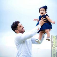Allu Arjun  hd  daughter Telugu Actor Allu Arjun Family Pictures
