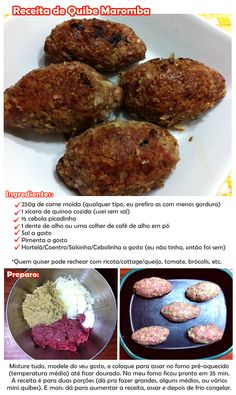 receita de quibe maromba