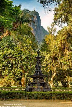 Jardim Botanico Fountain, Rio de Janeiro - http://andrewprokos.com