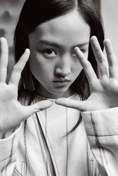 tiled:  'The Attic' Jing Wen by Yu Cong // Numéro China February 2016