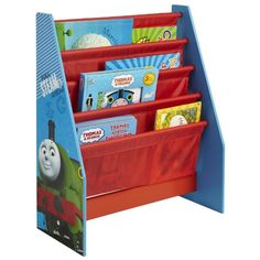 From 32.95:Thomas The Tank Engine Sling Bookcase