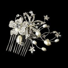 Silver Ivory Comb from How Divine ~ https://www.howdivine.com.au/store/product/silver-ivory-comb