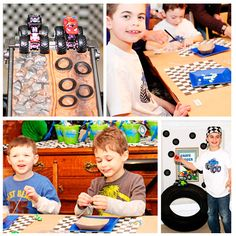 Amanda's Parties TO GO: Monster Truck Party