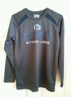 Campus Heritage Penn State Nittany Lions Long Sleeve Athletic Shirt Size Small #CampusHeritage #PennStateNittanyLions