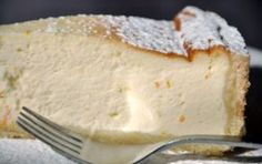 Torta de Ricota (Ricotta Cake) - this was one of my favorite things to eat at a coffee shop or tea room Sweets Recipes, Just Desserts, Wine Recipes, Delicious Desserts, Cooking Recipes, Yummy Food, Patisserie Sans Gluten, Torte Cake, Food Cakes