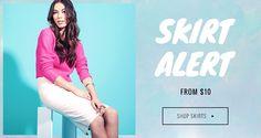 Skirt Alert - Shop Skirts