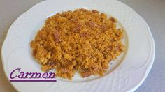 FALSAS MIGAS DE COLIFLOR Risotto, Macaroni And Cheese, Grains, Ethnic Recipes, Food, Pastel, Vegetarian Recipes, Diets, Cauliflowers