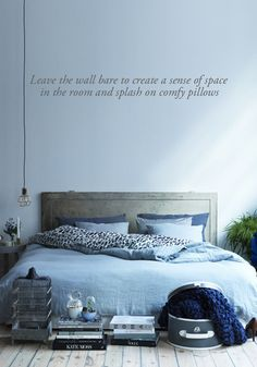 3 inspiring bedrooms styled in blue | Get the look | BODIE and FOU Design, Interiors, Fashion & Life