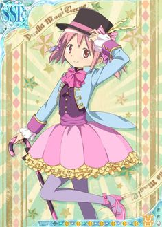"Crunchyroll - ""Madoka Magica"" Girls Get Circus, Sailor and More Redesigns"