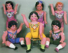 Muñecas mexicanas. Sololoy. Pátzcuaro.                                                                                                                                                     Más