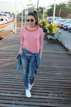 Nanda Pezzi: Jeans e Listras