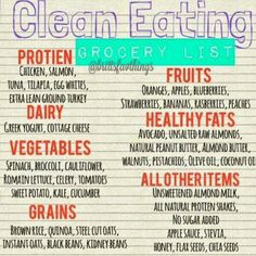Anybody else want to eat clean with me?