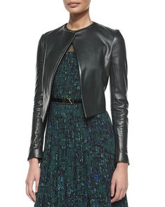 Open-Front+Cropped+Leather+Jacket+by+Jason+Wu+at+Neiman+Marcus.
