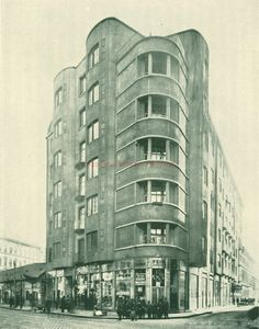 Apartment Block of the Harsányi Brothers, 1911  Budapest