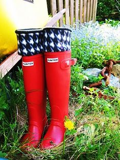 like red boots with houndstooth