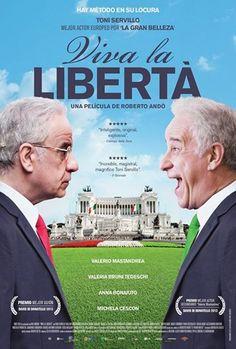 """Viva la Libertà 2013-Long Live Freedom- Italian film Tony Servillo plays two roles, a failed politician and his demented brother, in """"Viva la Libertà."""""""