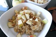 quinoa frühstück gesund clean eating blog rezept einfach schnell