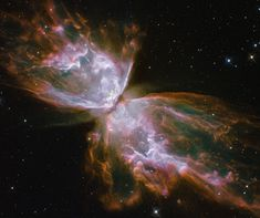 La nebulosa farfalla - Butterfly Nebula
