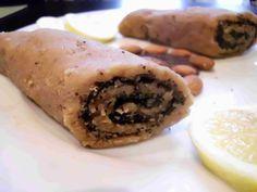 sütésmentes mákos-mandulás tekercs (nyers, vegán, gluténmentes, laktózmentes, tojásmentes, cukormentes, mindenmentes) / Recept