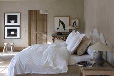 Belgian Tones   bedroom   bedding   neutral   bed  Huizen van bij ons - Wonen - Nest.be