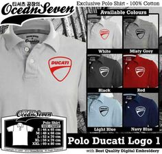 Polo Shirt Ducati Logo 1