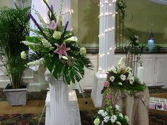 Ceremony flowers.