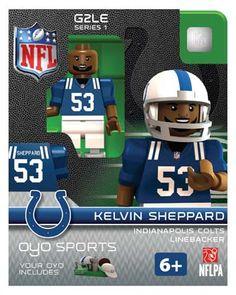 #53 Kelvin Sheppard Indianapolis Colts Linebacker-Limited Edition OYO minifigure