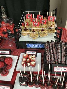 Leilani's WWE birthday party   CatchMyParty.com