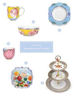 Louças e porcelanas para uma mesa descolada e florida