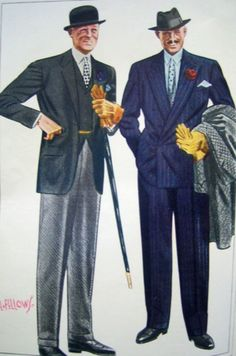 1930s mens clothing - Google Search