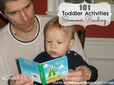 101 Toddler Activities ~ Summer Reading