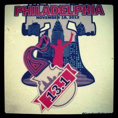 Philadelphia Marathon & 1/2 Marathon coaster $12.00; www.goneforarun.com