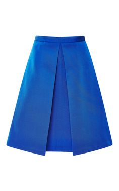 Katia Pleated Faille Skirt by Tibi - Moda Operandi