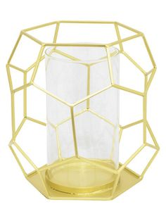 Geometric Candleholder by Three Hands at Gilt
