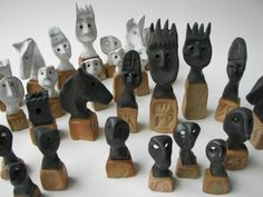 Fantastic fantasy chess set - 32 pieces