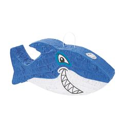 Kids love discovering that this Jawsome Shark Piñata has a belly full of sweet treat. 3rd Birthday Party For Boy, Combined Birthday Parties, Shark Birthday Cakes, Birthday Pinata, Birthday Party Themes, Birthday Ideas, Shark Party Decorations, Holiday Decorations, Kids Fathers Day Gifts