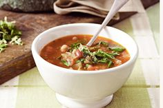 High in protein, this hearty Italian soup is a delicious way to warm up on winter nights.